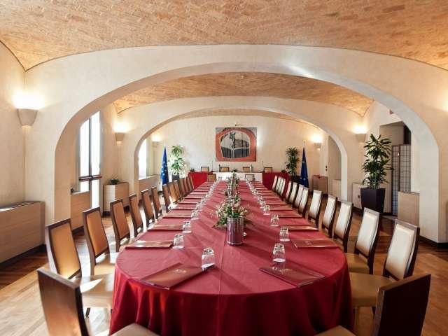 Sala Biblioteca - Kolbe Hotel Rome