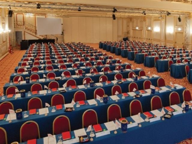 Lalique Baccarat Conference Room - Hotel Regina Palace - Stresa