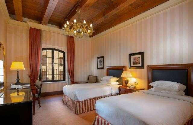 Hilton Molino Stucky Twin Guestroom