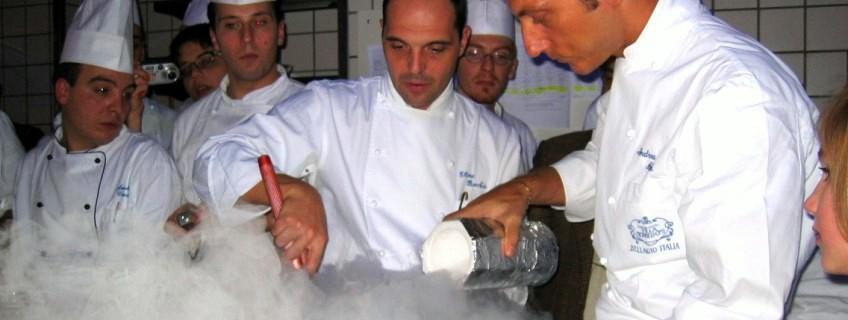 Ettore Bochia and haute cuisine