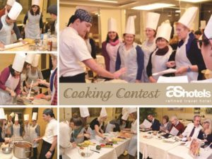 Cooking contest at AS Hotel Limbiate Fiera