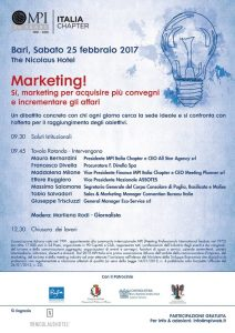MPI - a Bari Marketing degli Eventi