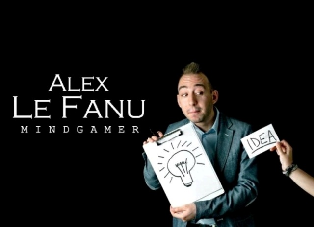 Alex Le Fanu Mindgamer - mentalist for meetings in Italy