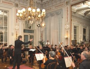 Bellagio Festival debuts at the Royal Hall of Grand Hotel Villa Serbelloni