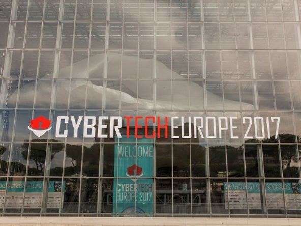 Tecnoconference Europe-Gruppo del Fio at Cybertech Europe 2017