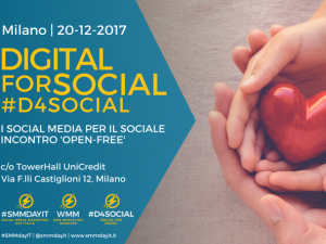 Digital for Social - Milano, 20 Dicembre 2017