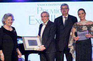 Premio Excellent a Carlo Izzo Kolbe Hotel Rome