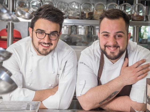 Executive Chef Pasquale Laera and Sous Chef Alessio Buccella