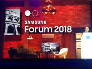 Tecnoconference Europe-Gruppo del Fio al Samsung Global Forum 2018