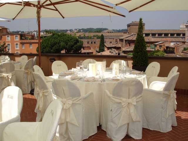 Garden Restaurant Al Palatino - Kolbe Hotel Rome