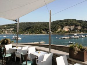 Champagne & music at Grand Hotel Portovenere