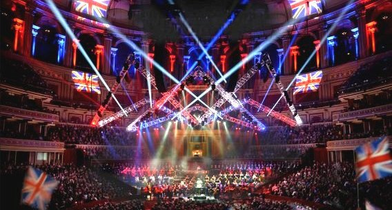 Goboproiezione Royal Albert Hall Di Londra