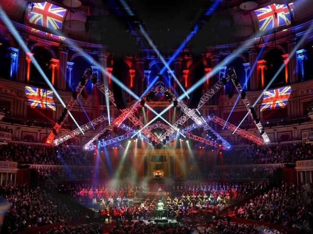 Goboproiezione Alla Royal Albert Hall Di Londra