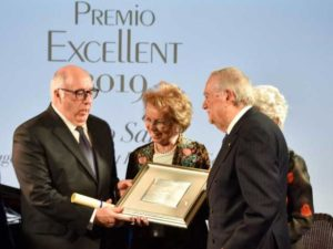 Marco Sarlo awarded Excellent Award 2019