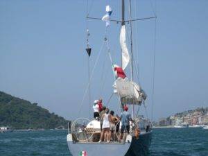 Cappuccini The sailing regatta: training and fun