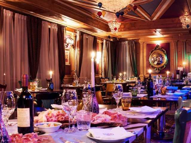 Osteria Del Circo Restaurant - Hotel Cristal Palace, Trentino, Italy