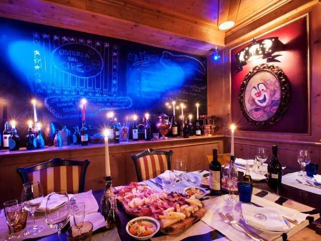 Osteria Del Circo - Cristal Palace Hotel - Trentino, Italy