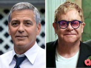 George Clooney Elton John