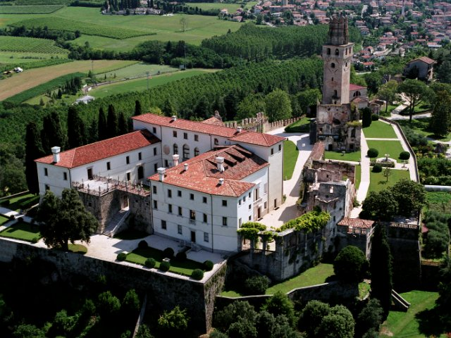 San Salvatore Castle - Veneto Italy