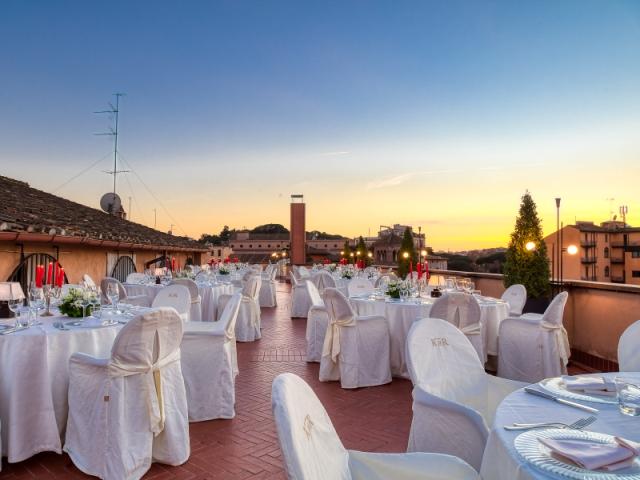 Kolbe Hotel Rome Terrazza