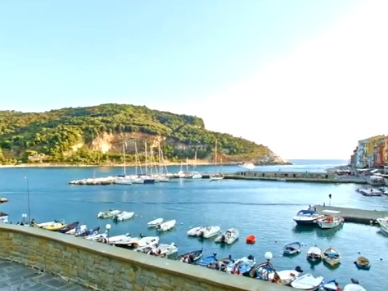 Palmaria Island - Grand Hotel Portovenere Liguria Italy