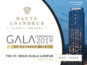 Haute Grandeur Awards 2019