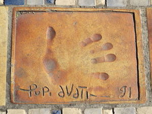 Pupi Avati Cannes Walk of Fame