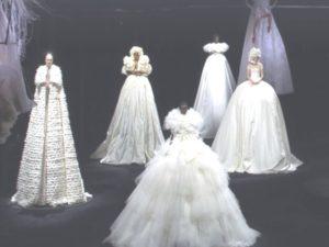 Valentino sfilata a Cinecittà