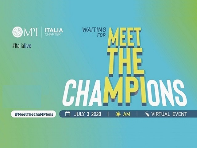 Waiting For Meet The Champions MPI Italia Chapter