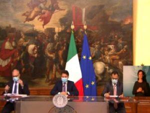 Decreto Conte Gualtieri Patuanelli