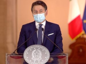 Giuseppe Conte DPCM 18 ottobre 2020
