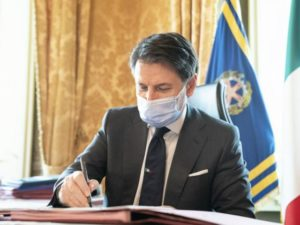 Giuseppe Conte 13 ottobre 2020