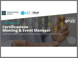 MPI Certificazione Meeting Event manager
