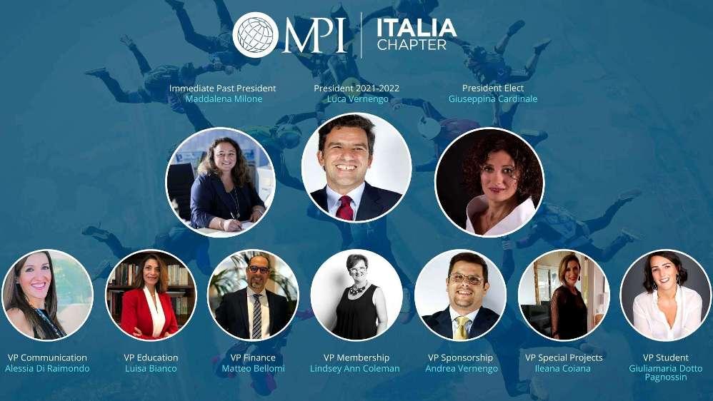 Board MPI Italia 2021-2022