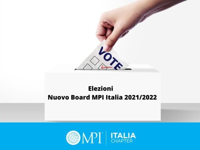 Votazioni MPI Italia Chapter
