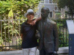 Fulvio a Trieste con Italo Svevo